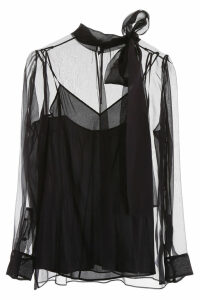 Valentino Voile Blouse