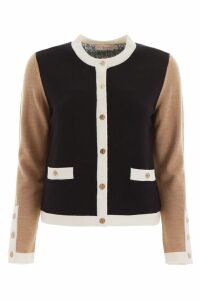 Tory Burch Color Block Cardigan