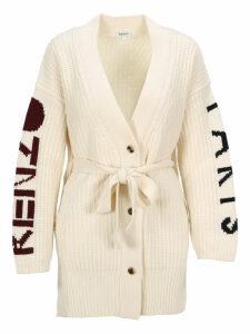 Kenzo Intarsia Logo Cardigan