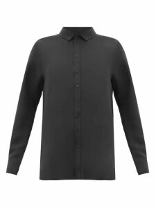 Wardrobe. nyc - Crepe De Chine Blouse - Womens - Black