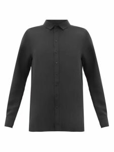 Wardrobe. nyc - Release 01 Crepe-de-chine Blouse - Womens - Black