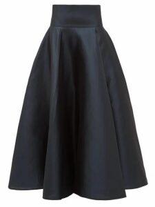 Carl Kapp - Ophelia Structured Mikado Skirt - Womens - Navy