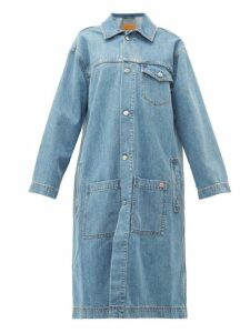 Martine Rose - Oversized Denim Jacket - Womens - Denim