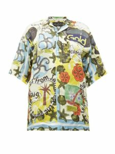 Martine Rose - Jamaika-print Twill Shirt - Womens - Multi