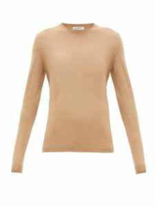 Giuliva Heritage Collection - The Esthia Virgin Wool Sweater - Womens - Camel