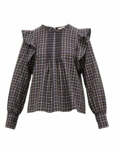 Weekend Max Mara - Aral Blouse - Womens - Navy Multi
