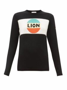 Bella Freud - Lion Wool Sweater - Womens - Black Multi