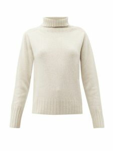 Margaret Howell - Roll-neck Cashmere Sweater - Womens - Cream