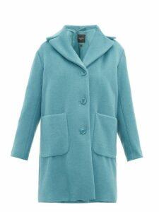Weekend Max Mara - Oliveto Coat - Womens - Mid Blue