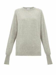 Raey - Raglan-sleeve Boyfriend-fit Cashmere Jumper - Womens - Grey