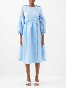 Raey - Oversized Wool Pea Coat - Womens - Camel