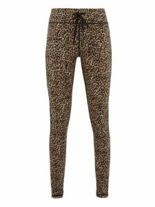 The Upside - Leo Leopard Print Stretch Jersey Leggings - Womens - Leopard