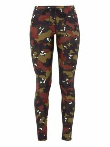 The Upside - Jungle Camouflage-print Performance Leggings - Womens - Camouflage