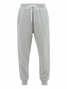 The Upside - One Love Cotton-jersey Track Pants - Womens - Grey