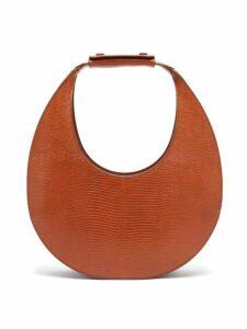 Staud - Moon Lizard-effect Leather Shoulder Bag - Womens - Tan