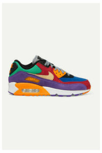 Nike - Air Max 90 Qs Suede And Canvas Sneakers - Red