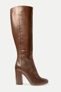 Tabitha Simmons - Sophie Leather Knee Boots - Dark brown