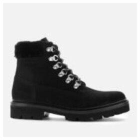 Grenson Women's Brooke Suede Hiking Style Boots - Black - UK 8 - Black