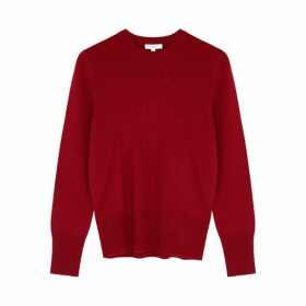 Equipment Sanni Red Cashmere Jumper