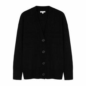 Equipment Black Cashmere Cardigan