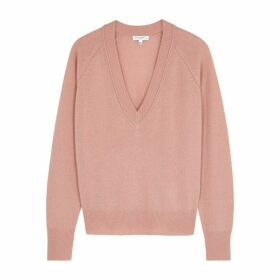 Equipment Madalene Pink Cashmere Jumper