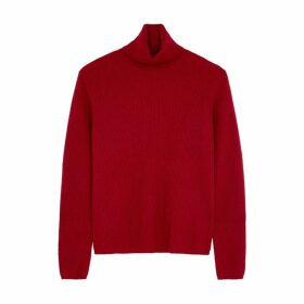 'S Max Mara Nabucco Red Wool-blend Jumper
