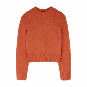 Vince Orange Cashmere Jumper