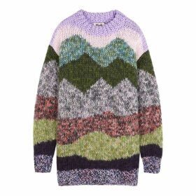 Baum Und Pferdgarten Clarity Striped Mohair-blend Jumper