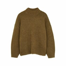 3.1 Phillip Lim Olive Knitted Jumper