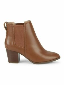 Weller Stacked-Heel Western Booties