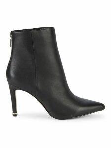 Raine Leather High-Heel Booties