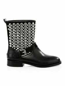 Saida Moto Leather Boots