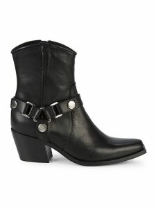 Polo Western Leather Booties