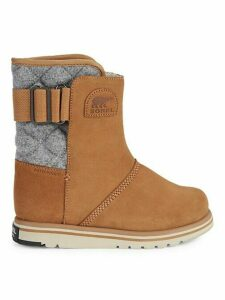 Rylee Waterproof Suede & Faux Fur Boots