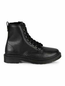 Flann Leather Combat Boots