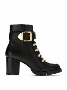 Schutz buckled mid-high boots - Black