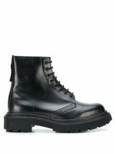 Adieu Paris x Études lace-up boots - Black