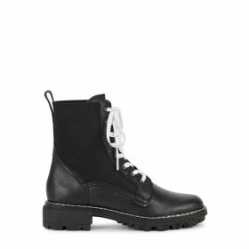 Rag & Bone Shiloh 40 Black Leather Boots