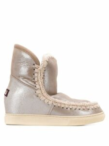 Mou Eskimo wedge ankle boots - Grey