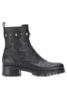 Fabiana Filippi studded boots - Black