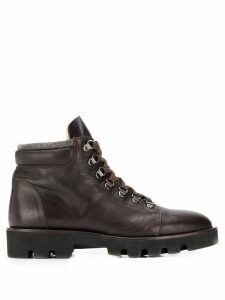 Fabiana Filippi lace up boots - Brown