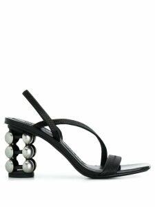 Alexander Wang Dee Dee Dome sandals - Black