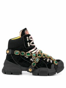 Gucci Flashtrek chunky sneakers - Black