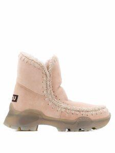 Mou Eskimo Mountain ankle boots - PINK