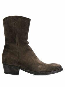 Pantanetti cowboy-style boots - Brown