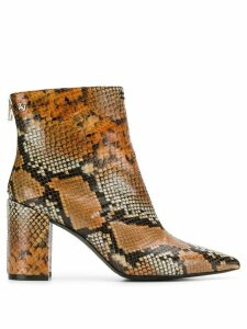 Zadig & Voltaire Glimmer Wild ankle boots - Brown