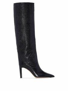 Jimmy Choo Mavis 85mm knee-high boots - Grey