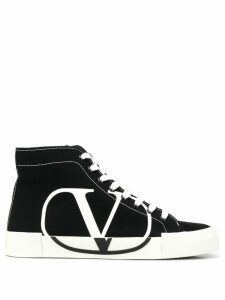 Valentino Valentino Garavani Tricks high-top sneakers - Black