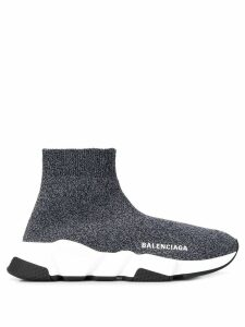 Balenciaga Speed knitted sneakers - Black