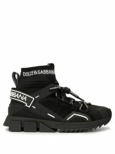 Dolce & Gabbana Sorrento high-top sneakers - Black